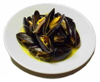 ...and mussels...