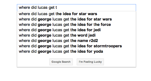 George Lucas has some questions to answer before Episode VII.