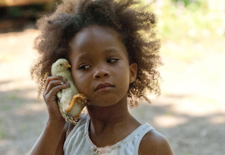 Quvenzhane Wallis in Beasts of the Southern Wild. Tell me that little face doesn't make you smile and want to hug her.