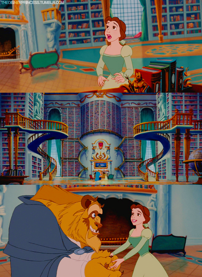 I feel like this scene in Beauty and the Beast would be far less climactic if Beast just handed Belle a Kindle Fire.