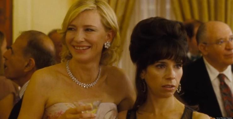 Cate Blanchett (left) in Blue Jasmine