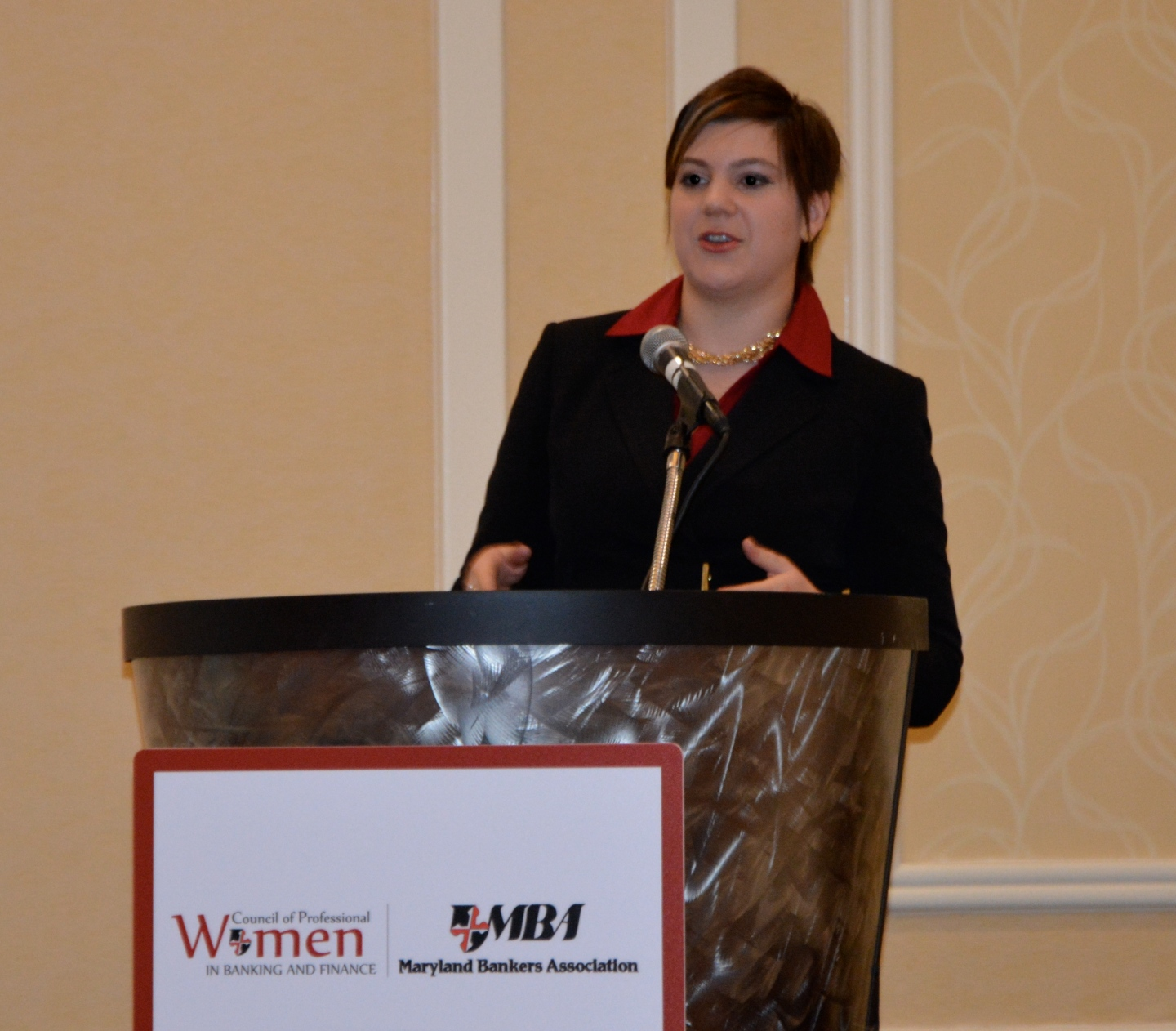 Kate Everson, Maryland Bankers Association Council for Professional Women in Banking and Finance Quarterly Meeting